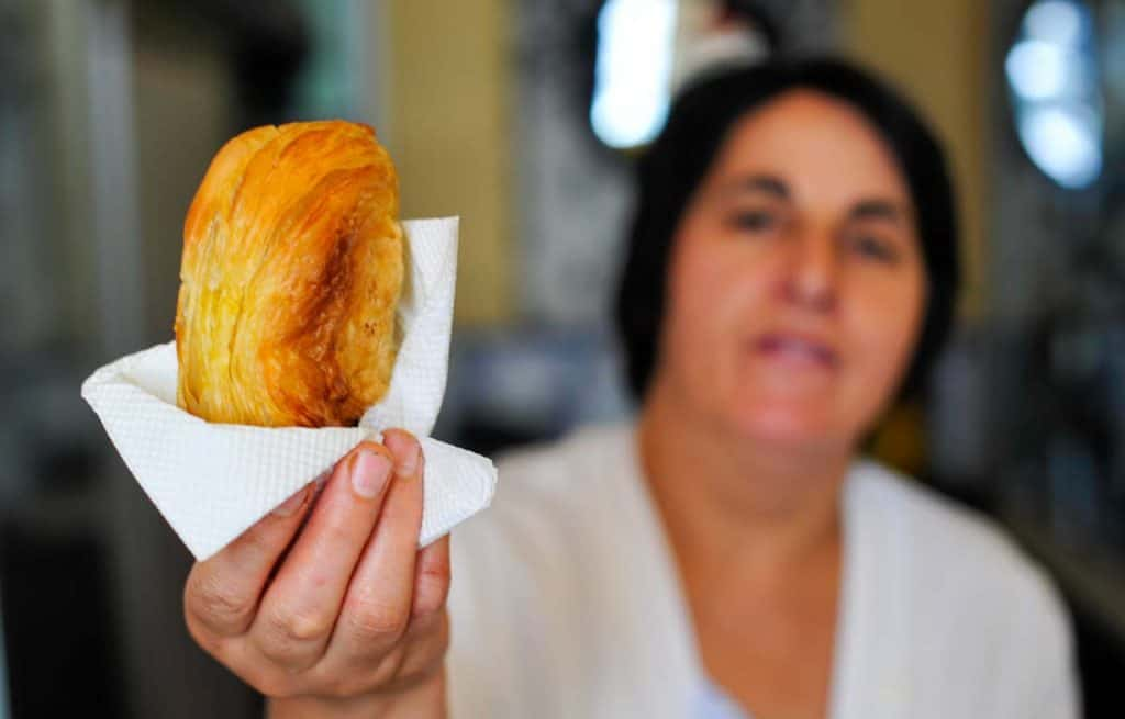Bästa pasties of Chaves: Pastry Maria