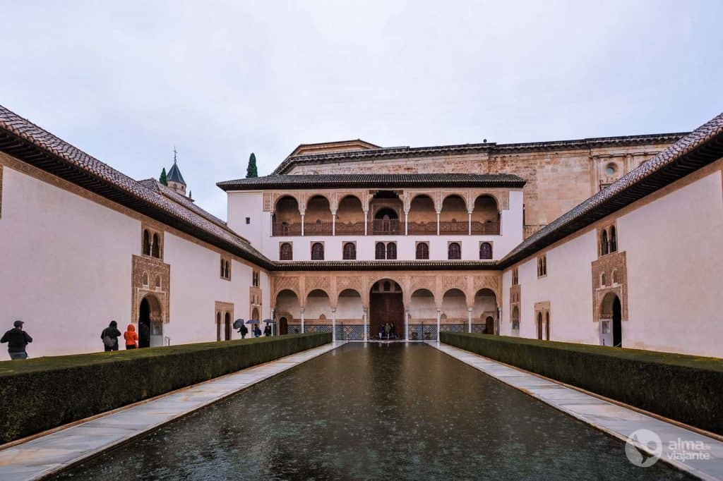 Courtyard of Comares, Alhambra