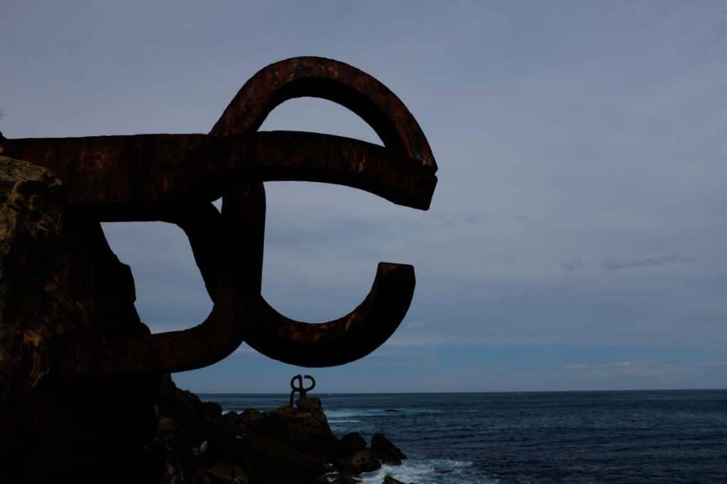 O que fazer em San Sebastián: Peine del Viento