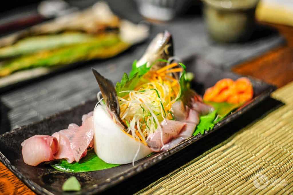 Melhor comida do Japão: ikizukuri