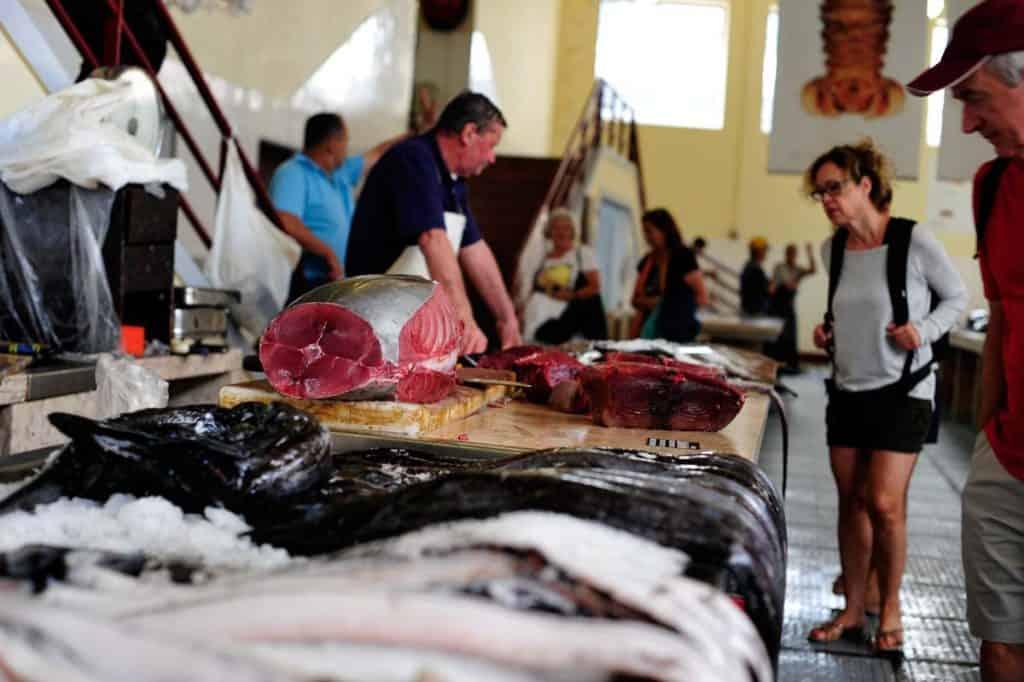 Peixaria do Mercado dos Lavradores, Funchal