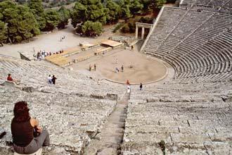 Epidauro, teatro grego