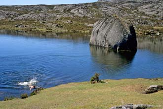 Lagoa no Parque Nacional da Peneda-Gerês