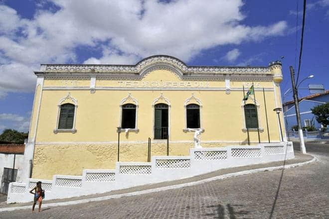 A arquitetura de Penedo é rica e trabalhada