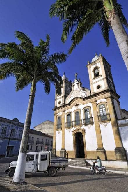 Igreja Nossa Senhora das Correntes, em Penedo