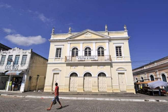 Centro de Penedo, cidade histórica de Alagoas
