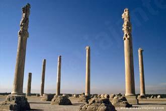 Palácio de Apadana em Persépolis