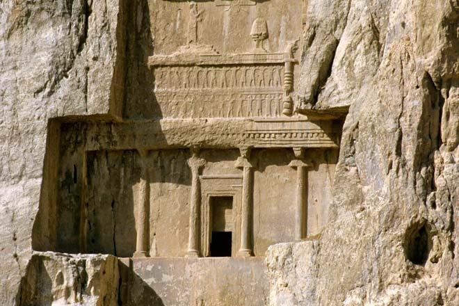 Naghsh-é Rostam, região de Persépolis