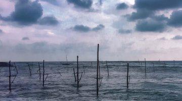 Por que não fotografei os pescadores sobre estacas do Sri Lanka