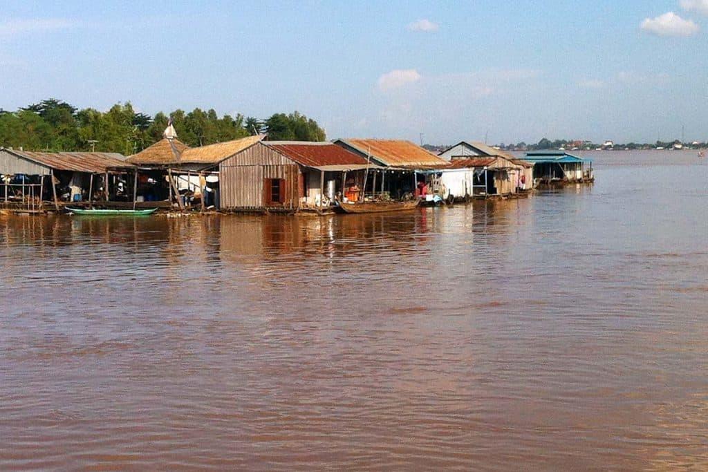 Rio Mekong, Phnom Penh, Camboja