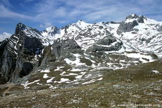 Os picos e o circo de Fuente Dé