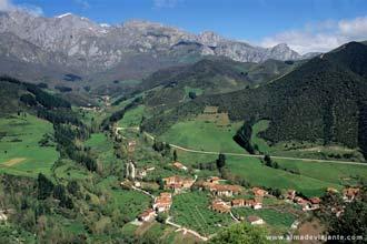 Vista a partir do teleférico de Fuente Dé, Picos da Europa