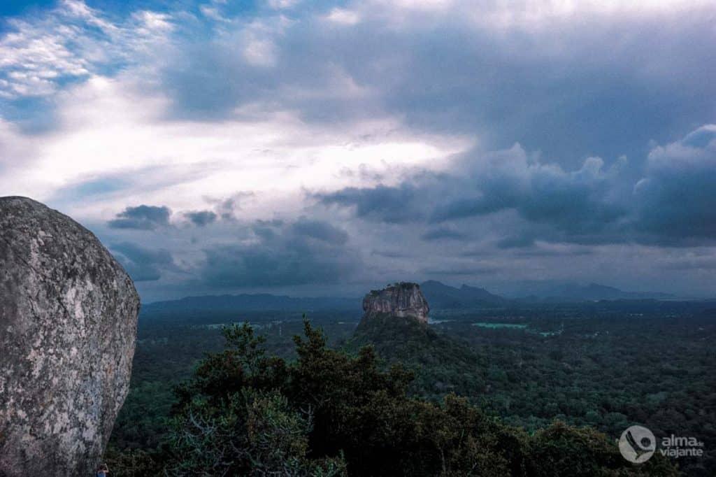 Sigiriya vista de Pidurangala
