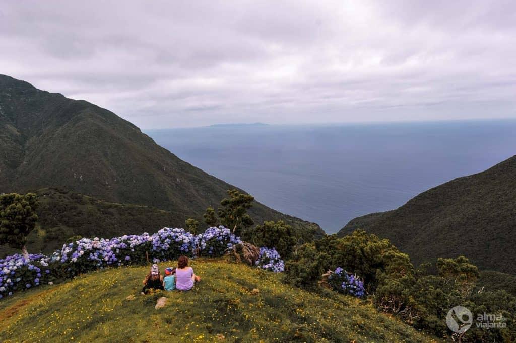 Trilho da Caldeira de Santo Cristo, São Jorge, Açores