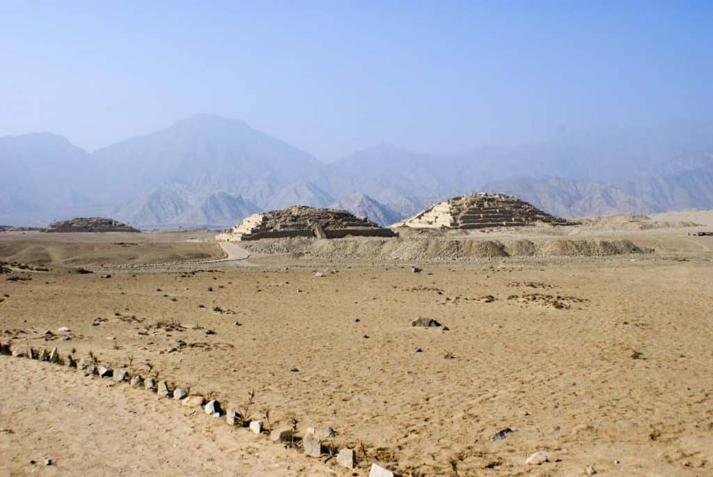 Áhugaverðir staðir í Lima: Pyramids of Caral