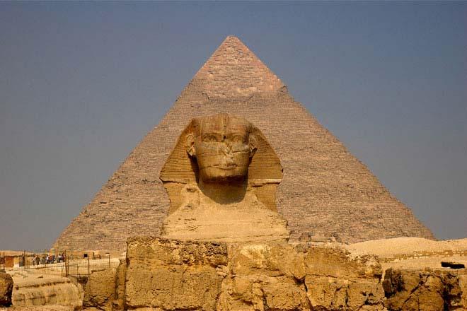 Esfinge e pirâmides de Gizé, Cairo