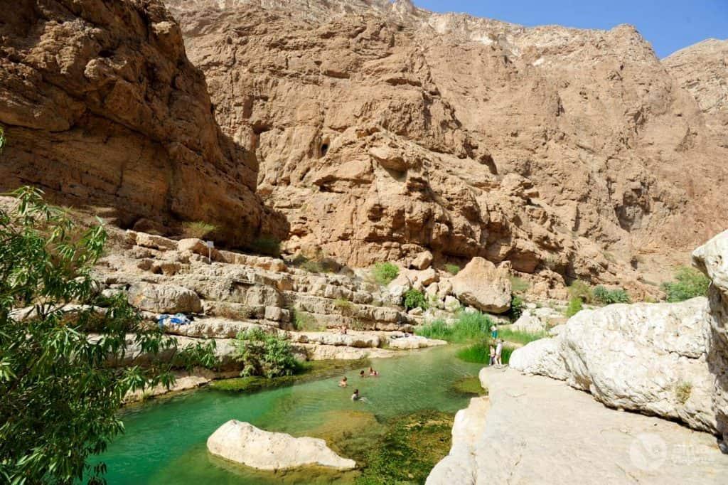 Wadi Shab gamtos baseinai