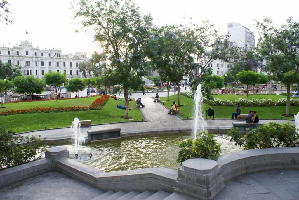 Plaza de San Martin, Lima