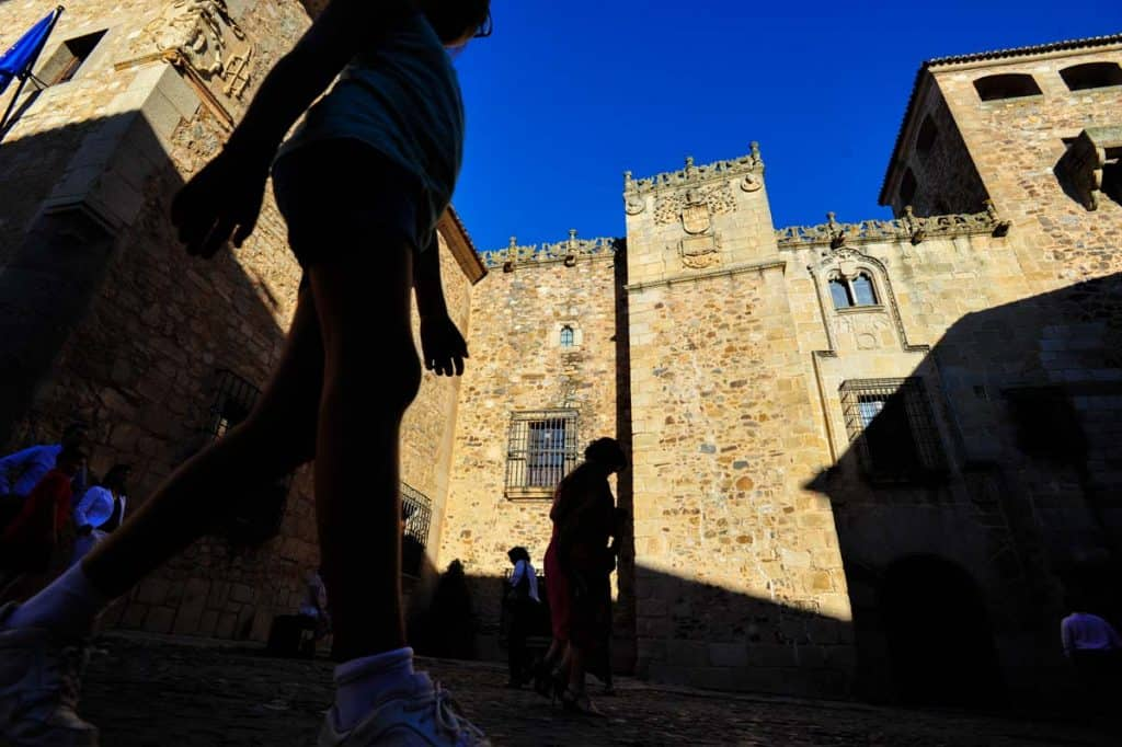 O que visitar em Cáceres: Plaza Santa Maria