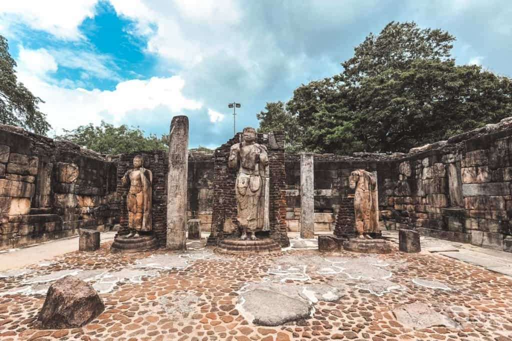 Sacred Quadrangle af Polonnaruwa
