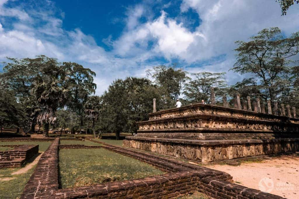 Royal Palace of Polonnaruwa, Srí Lanka