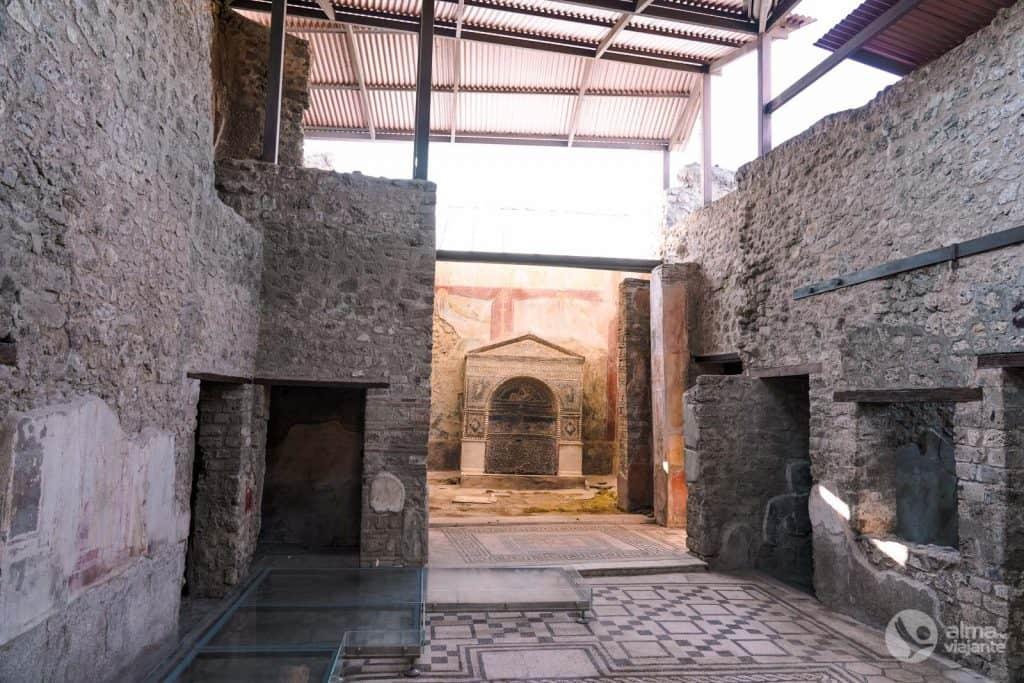Casa do Urso Ferido, Pompeia