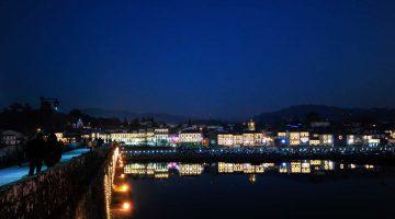 Ponte de Lima noću