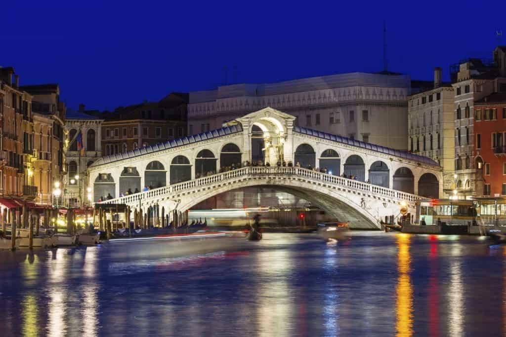 Visitar Veneza: Ponte Rialto