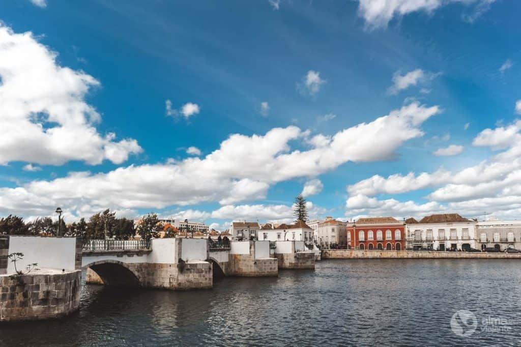 Romersk bro av Tavira