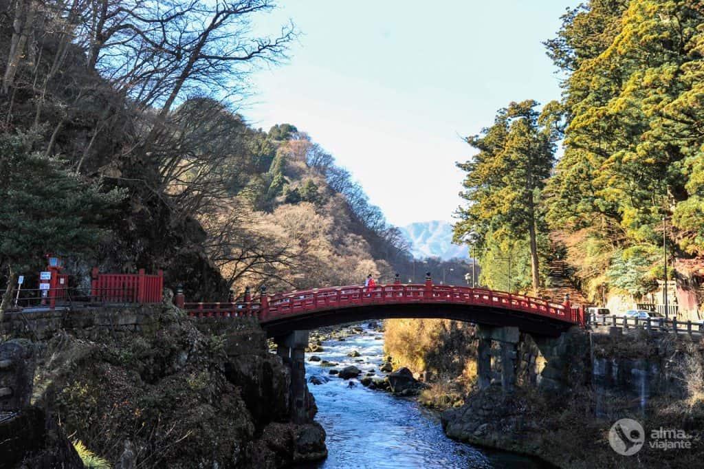 Ponte Shinkyo, Nikko