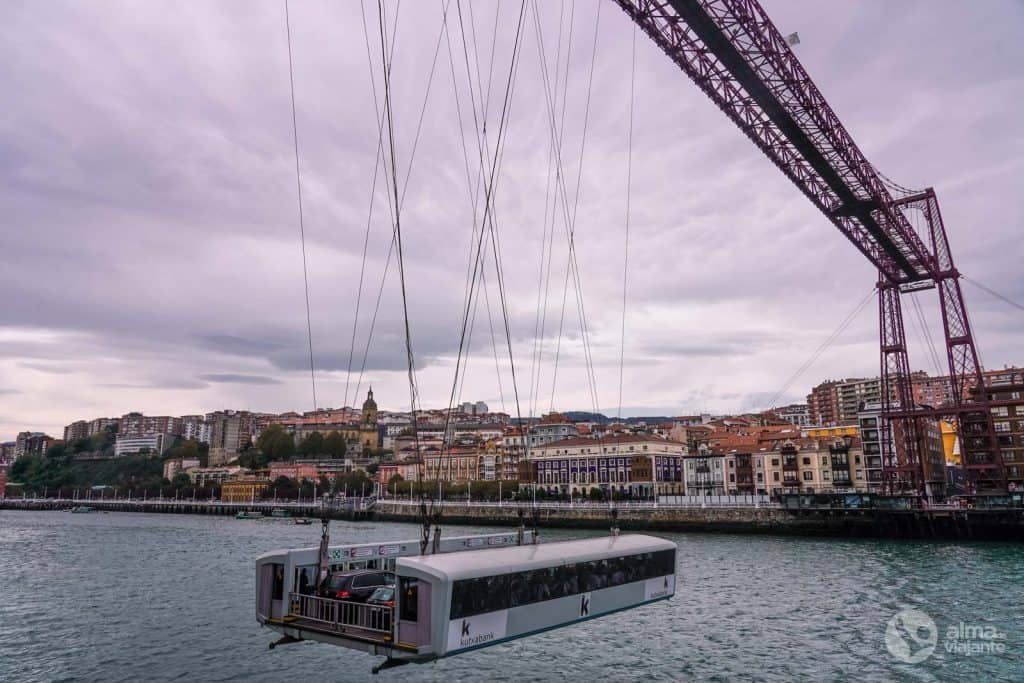 Ponte Viscaya Bilbau
