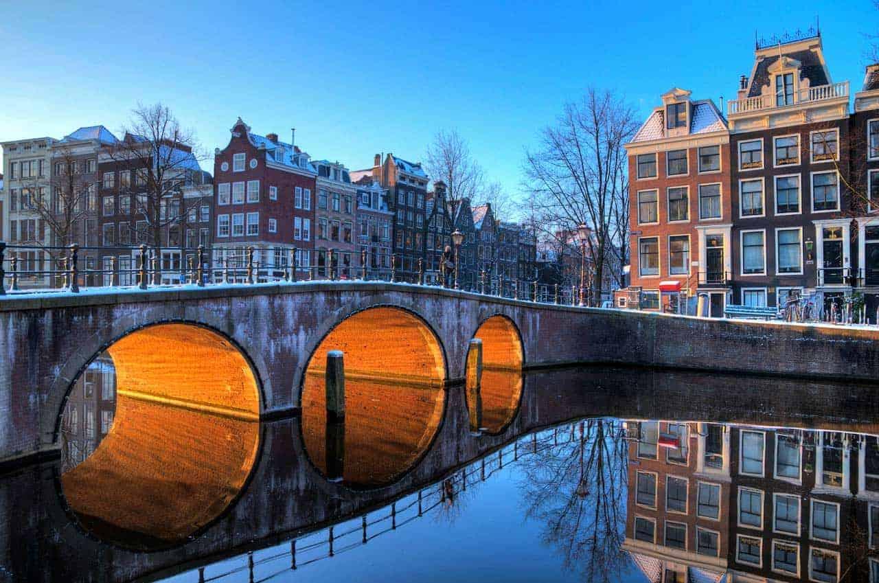 Património Mundial na Holanda: canais de Amesterdão