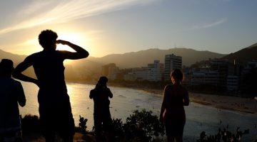 Pôr-do-sol no Arpoador: um mini-ensaio fotográfico