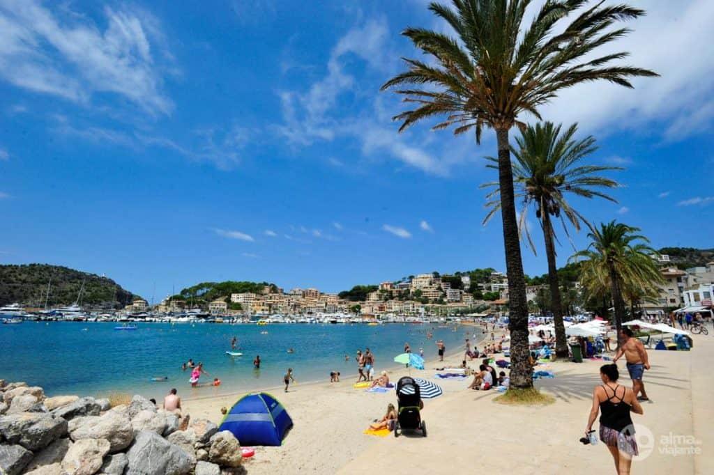Strande i Mallorca: Port de Soller