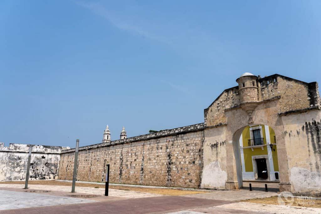 O que ver em Campeche: Porta do Mar