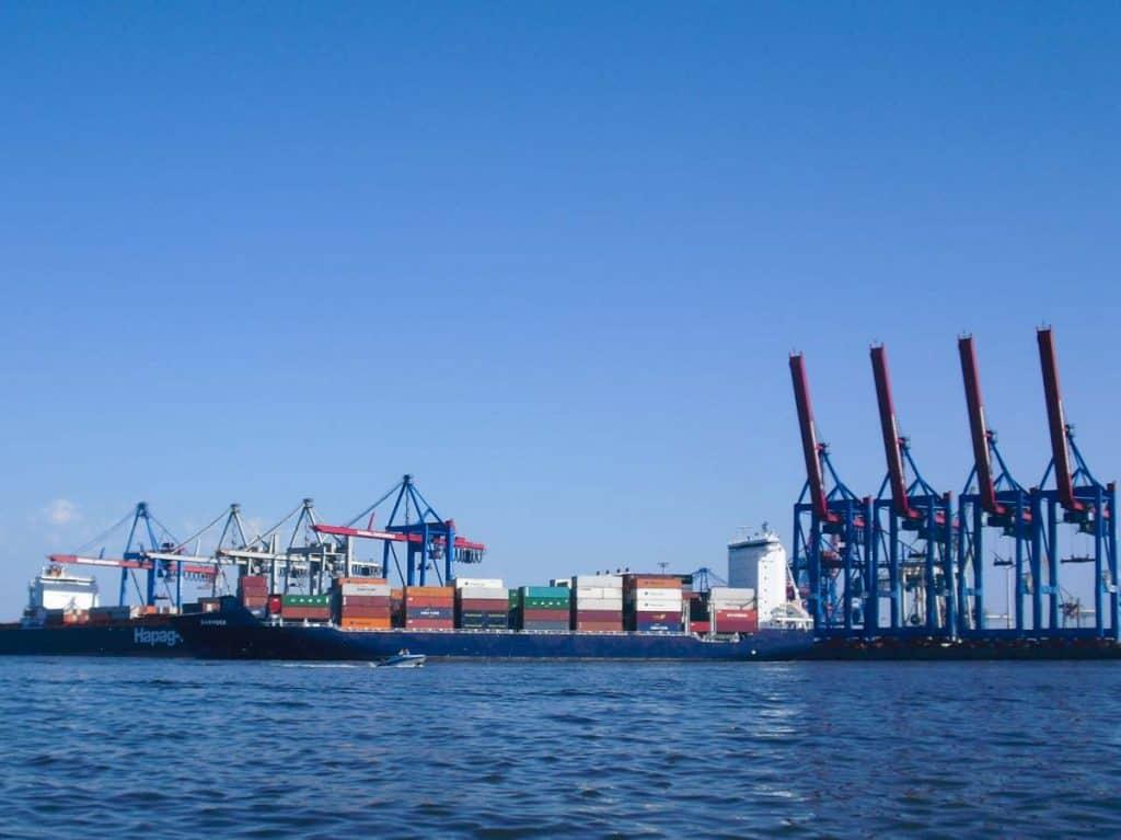 Porto marítimo de Hamburgo