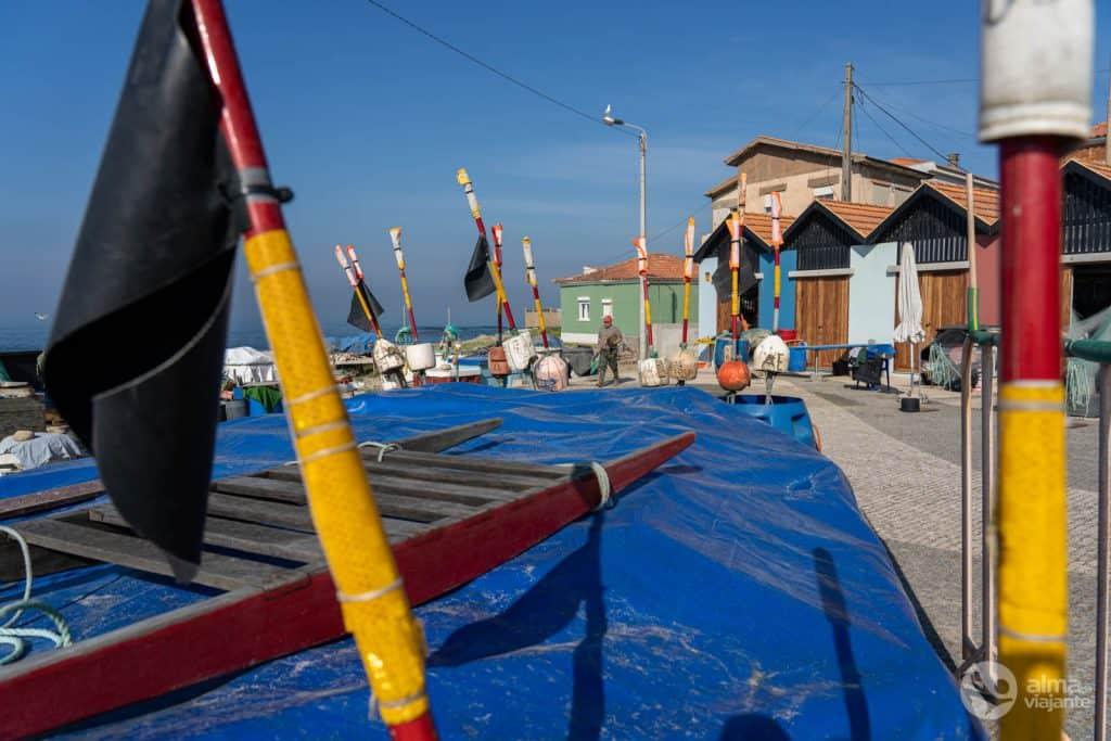 Porto de pesca em Vila Chã