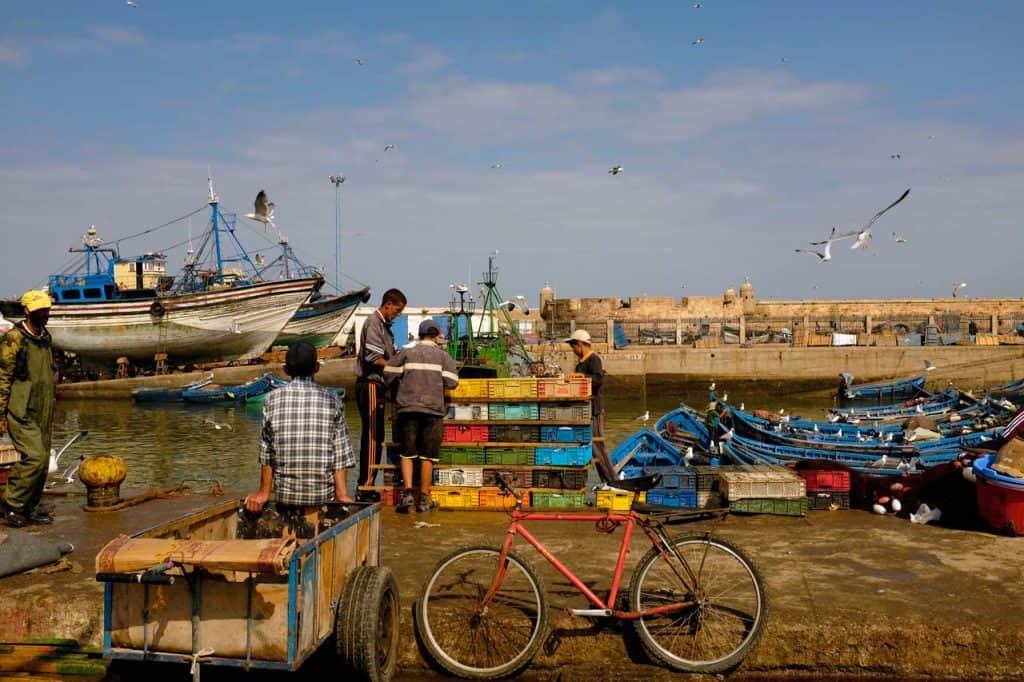Porto de pesca de Essaouira