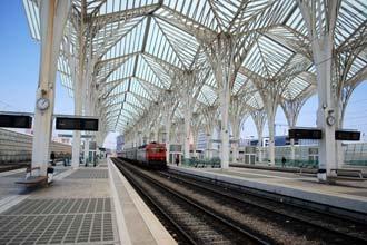 Gare do Oriente, em Lisboa