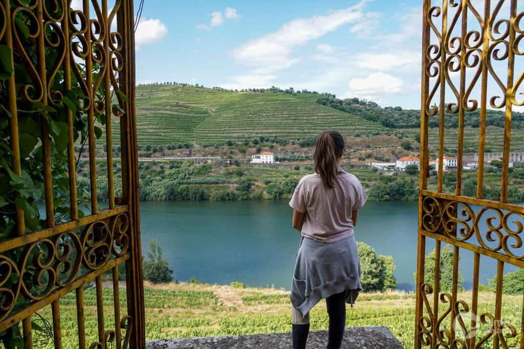 Trekking junto ao rio Douro