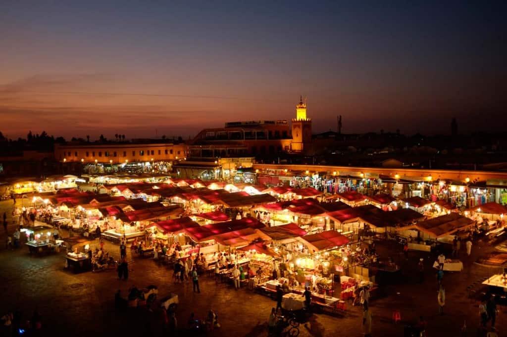 Ferð Marokkó: Marrakesh