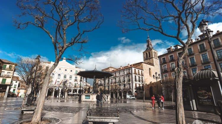 Plaza Mayor, Segóvia