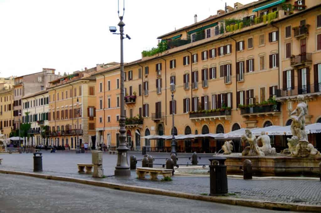 Heimsókn Róm: Piazza Navona
