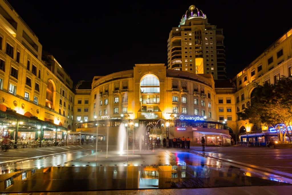 Nélson Mandela Square, Jóhannesarborg