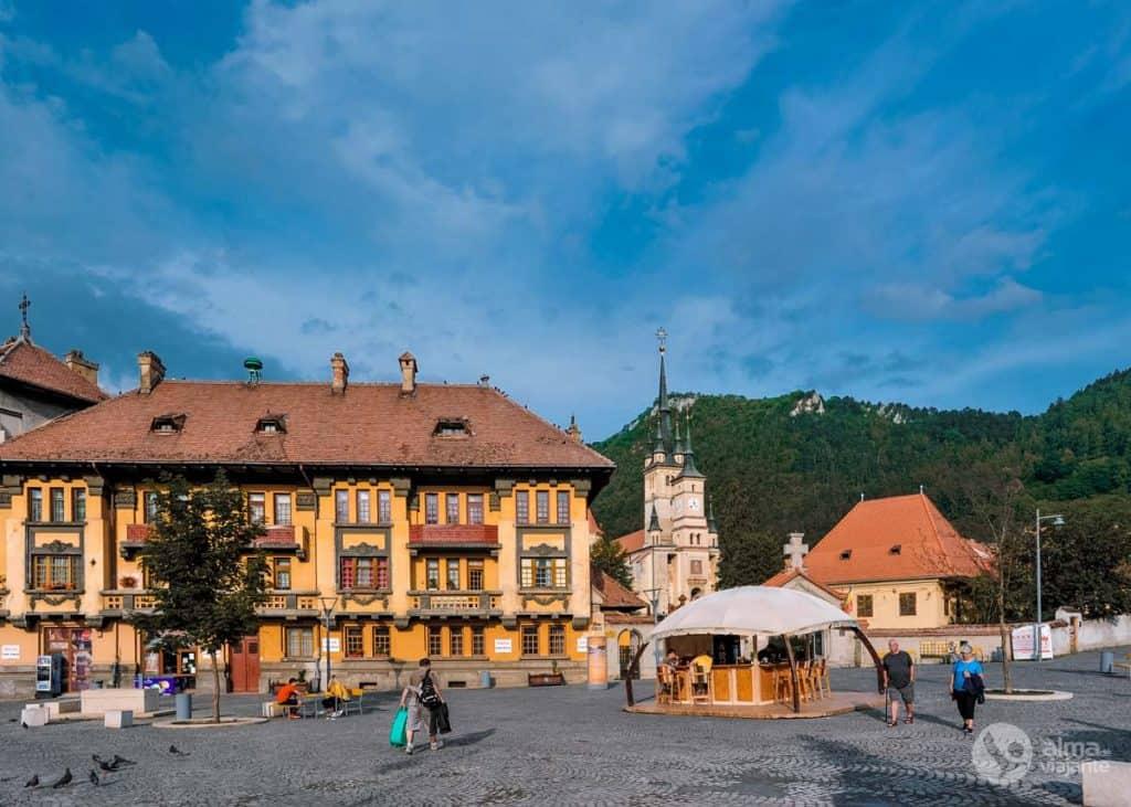 O que fazer em Brasov: visitar bairro Schei