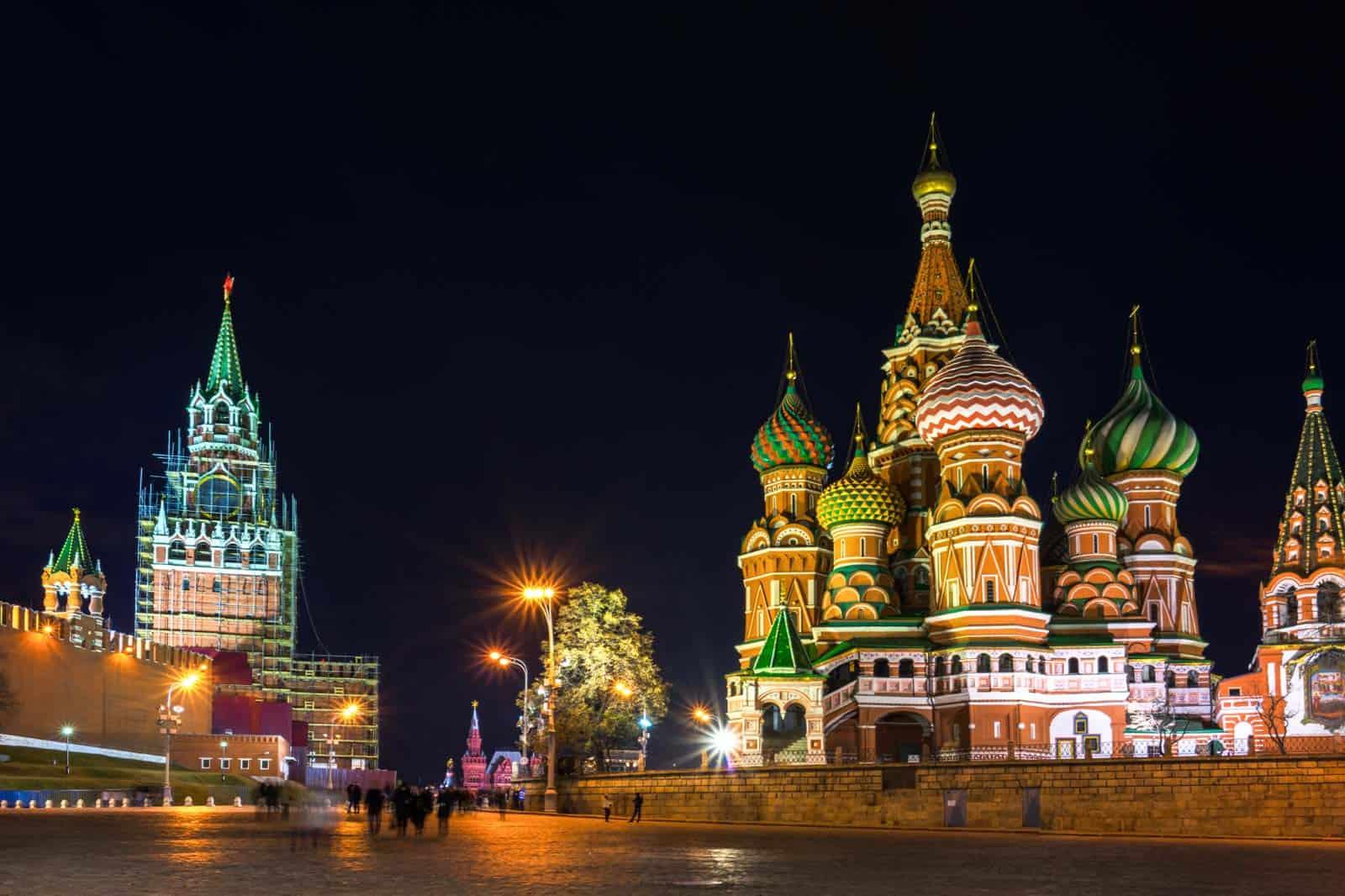 Praça Vermelha de Moscovo, Rússia