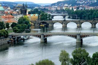 Pontes sobre o rio Vlátva, Praga