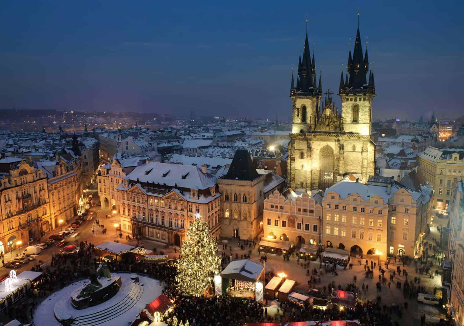 Praga, capital da República Checa