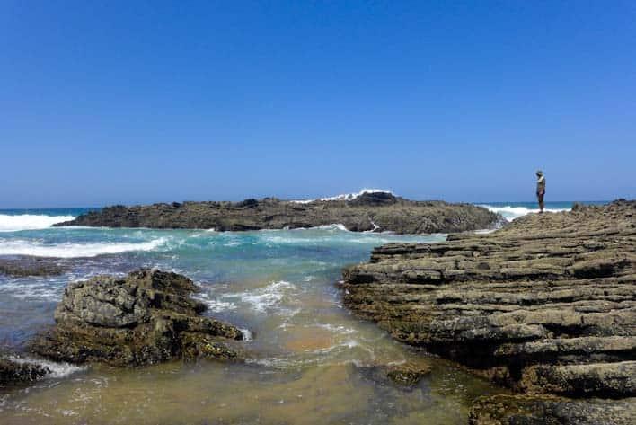 Praia da Carriagem, najkrajšia pláž v Portugalsku