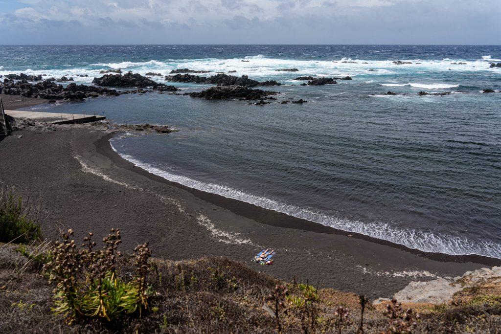 Praia da Areia, no Corvo
